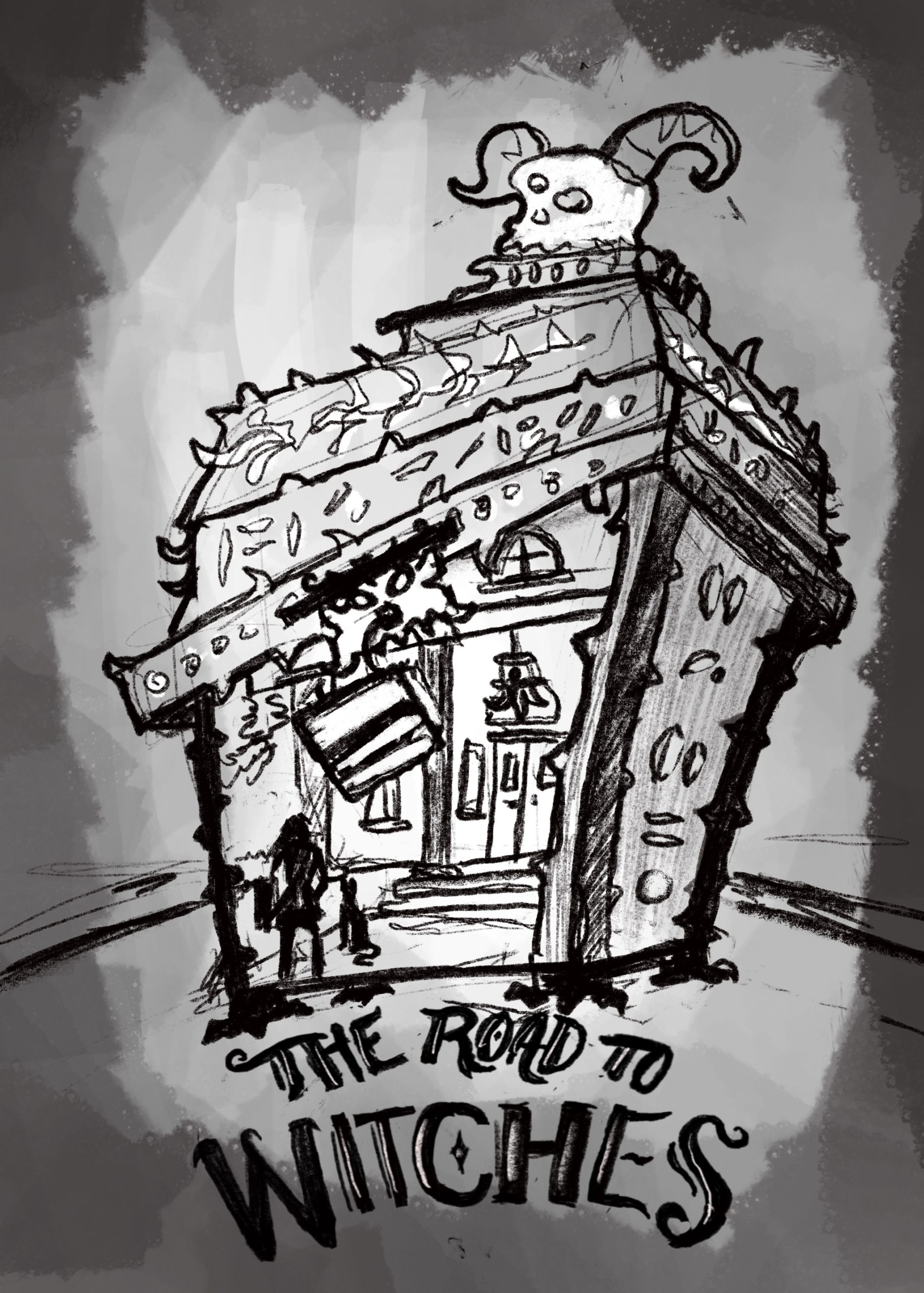 Road To Witches - Sketch 3