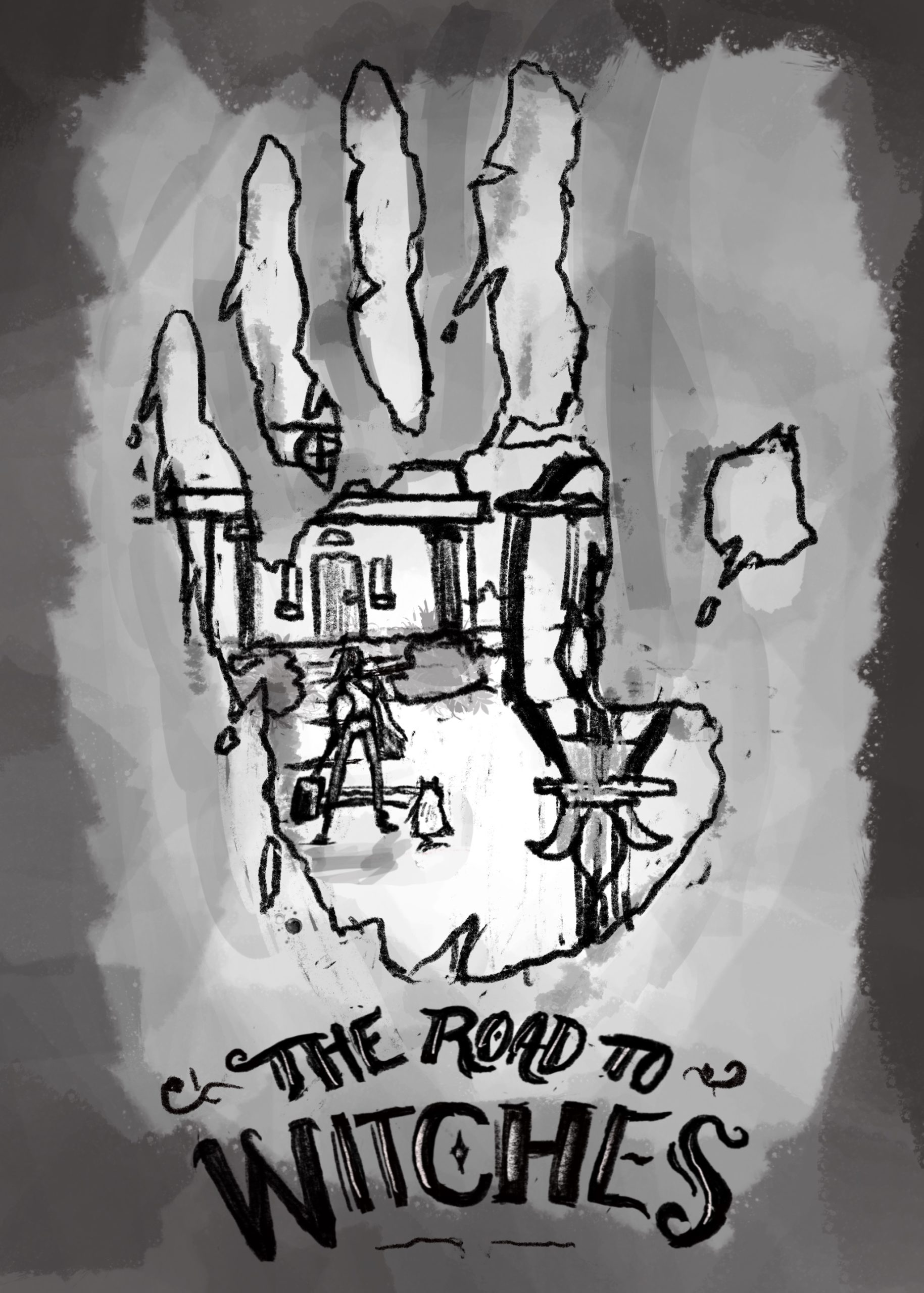 Road to Witches - sketch2