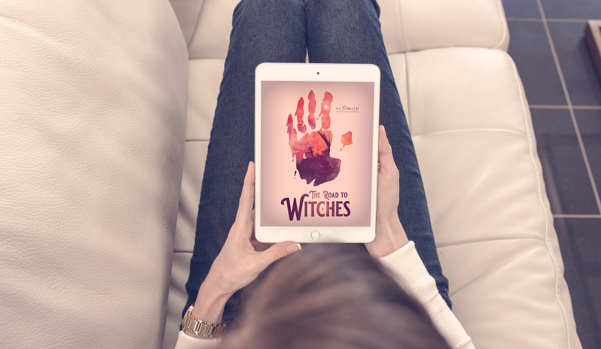 Road to Witches mockup